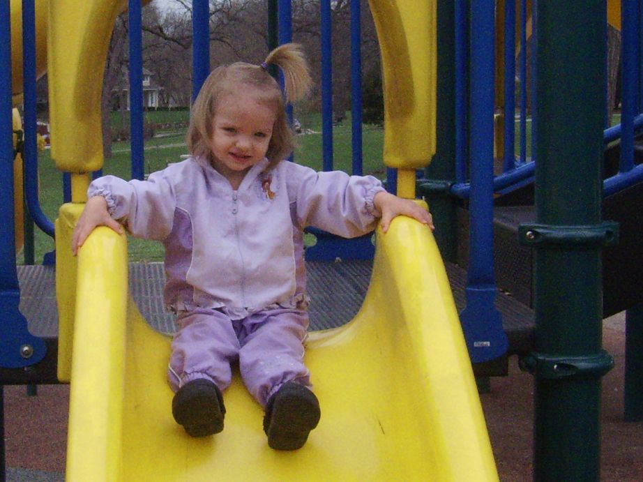Allyssa on the Slide