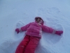 Snow angel party...
