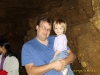 Dad and Allyssa at the Cave